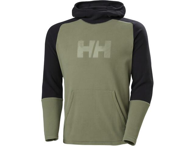 Helly Hansen Daybreaker Hættetrøje Herrer, grøn/sort
